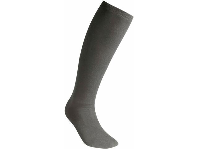 Woolpower Liner Calcetines de corte alto, grey